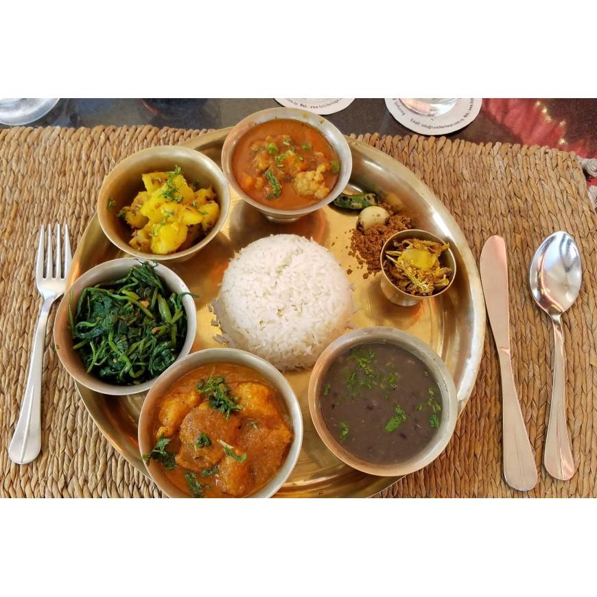 Découvrez la cuisine népalaise...