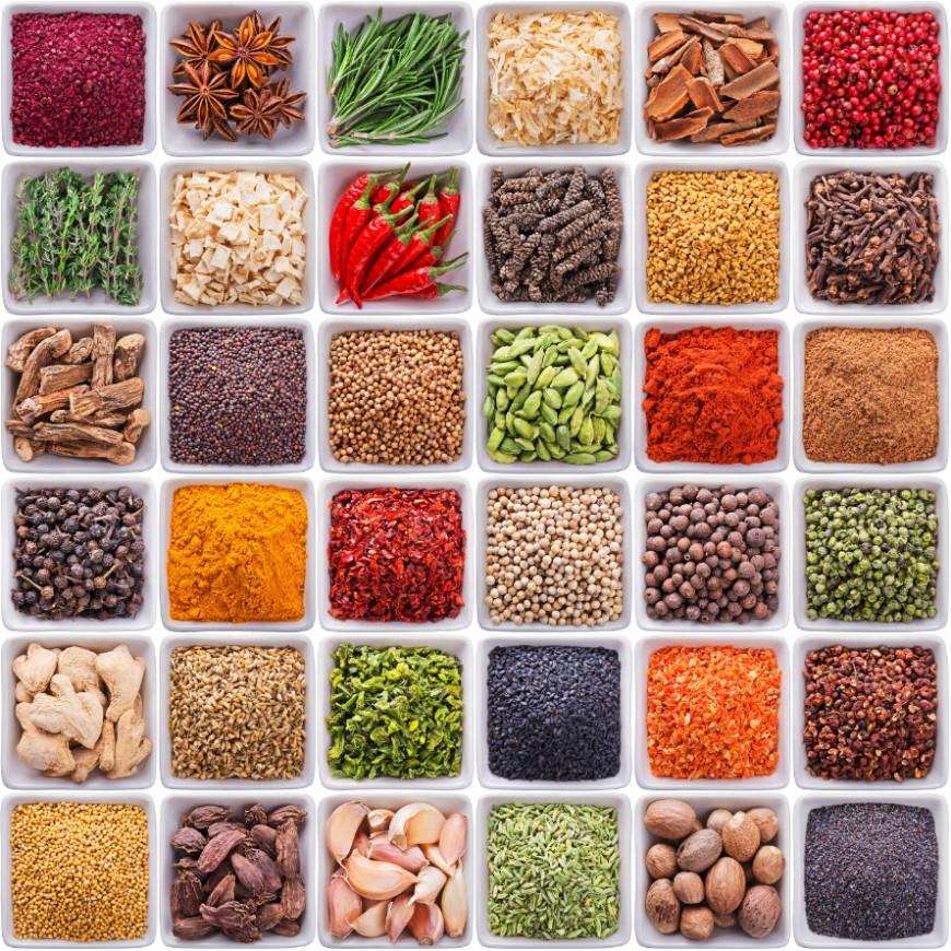 Le goût de l'Inde: 10 épices pour 10 bienfaits!